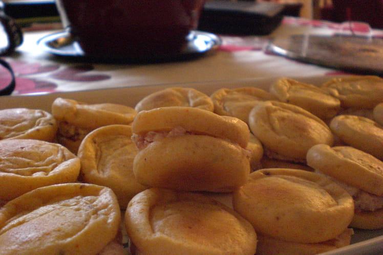 Whoopie-pie au jambon fumé