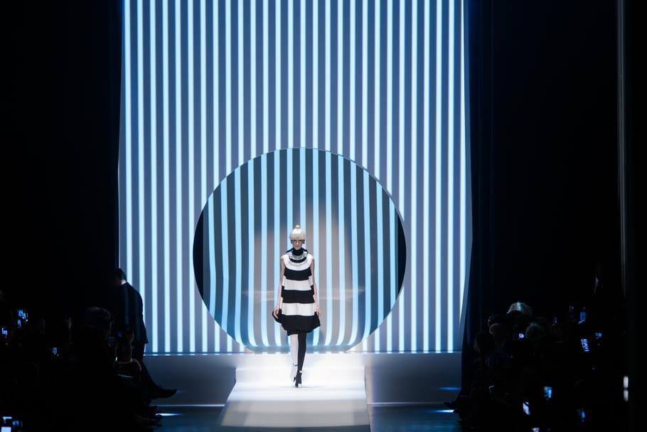 L'art cinétique s'invite chez Jean Paul Gaultier
