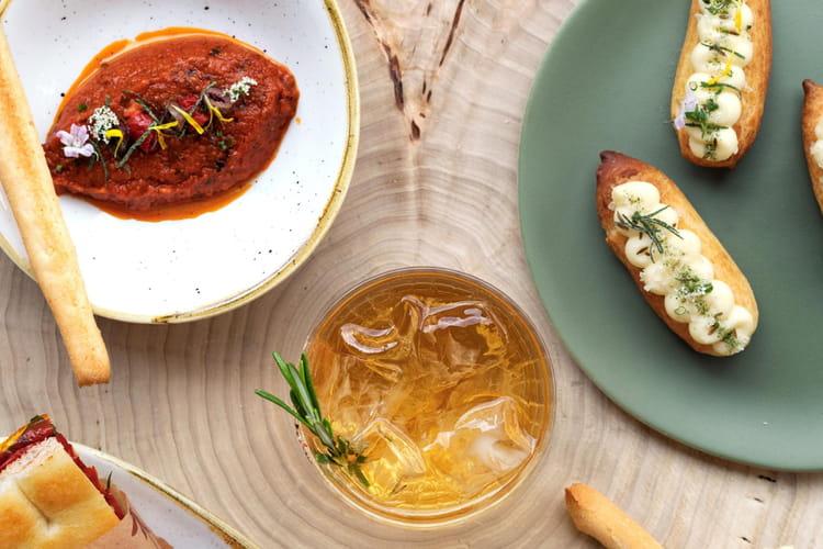 Tomatade à l'huile du chef Vincenzo Regine