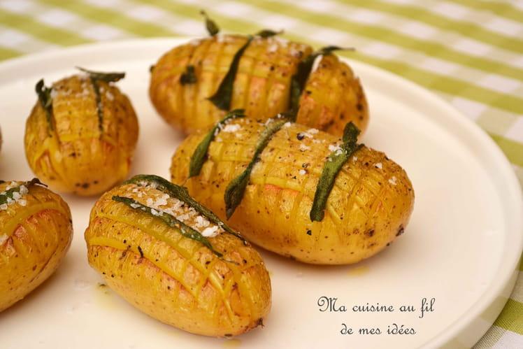 Pommes de terre à la sauge et huile d'olive