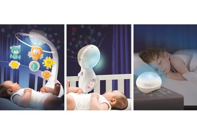 Mobile Douce Nuit 3-en-1, Infantino