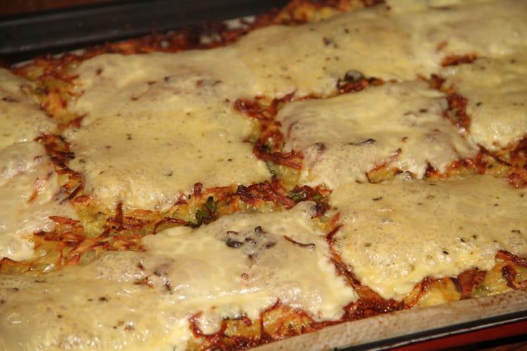 Maxi rosti au fromage à raclette