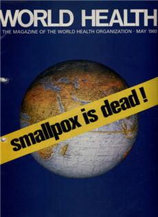 en 1980, l'oms l'annonce officiellement: la variole n'est plus.