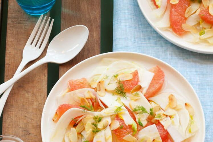 Salade Orlando au pamplemousse et fenouil