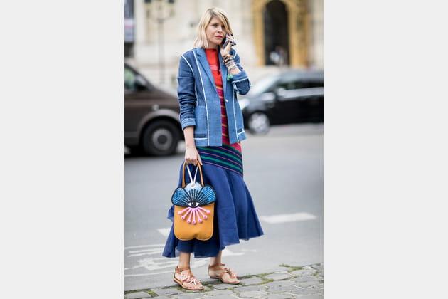 Street style à Paris : le sac OVNI