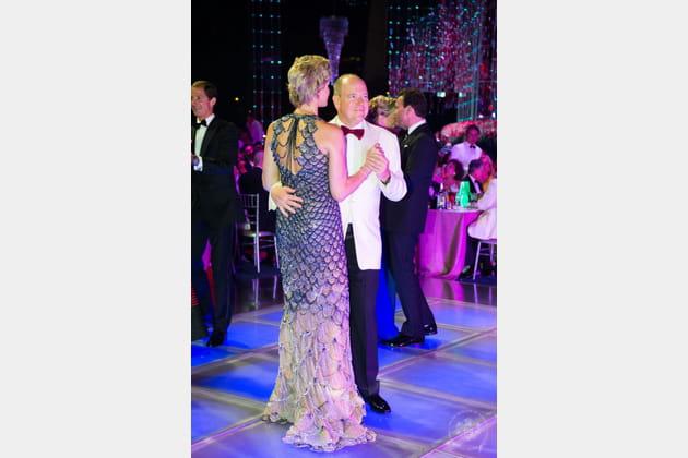 Charlene et Albert, rois du dancefloor