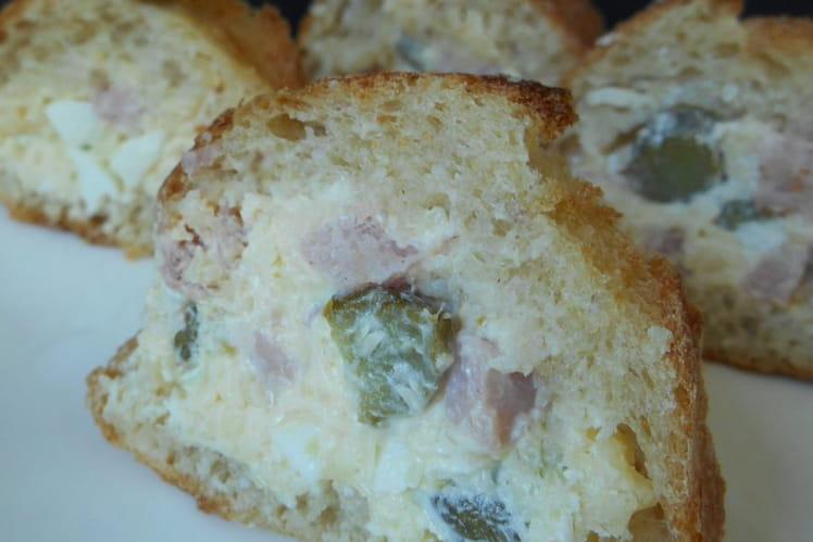 Baguette farcie au jambon