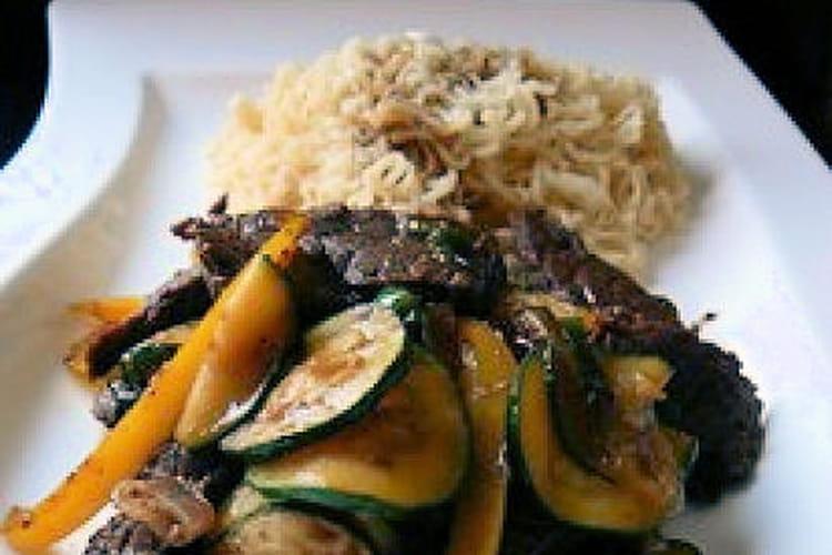 Sauté de boeuf au curry