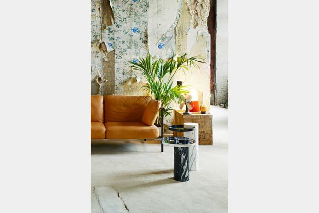 Tables d'appoint Salute par Sebastian Herkner chez La Chance