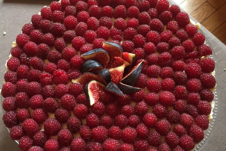Tarte aux fruits de saison sans cuisson