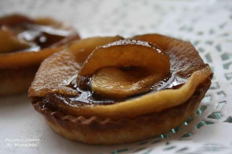 Tartelettes aux pommes caramélisées fève tonka