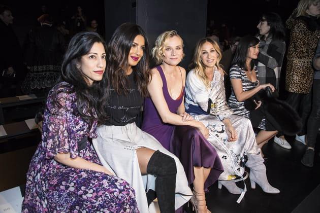 Huma Abedin, Priyanka Chopra, Diane Kruger et Sarah Jessica Parker