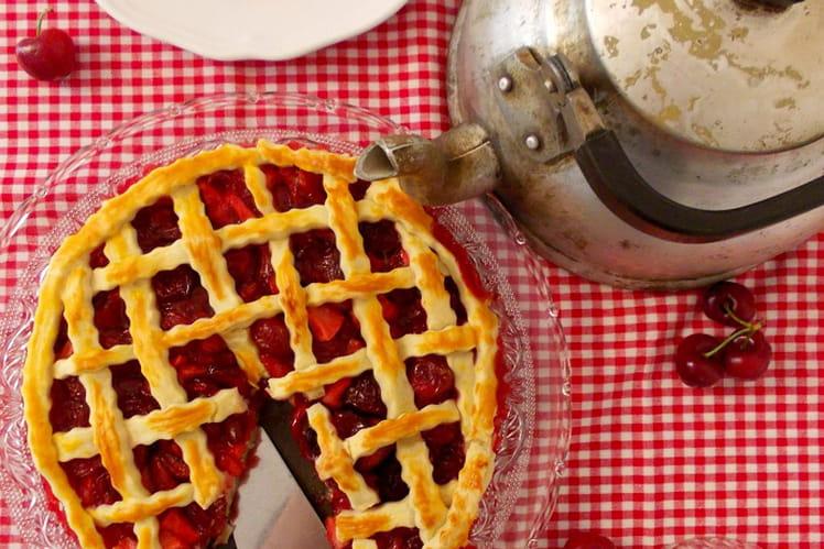 Tarte aux cerises Cherry pie