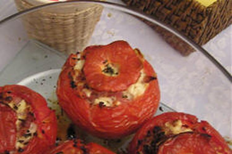 Tomates farcies à la feta