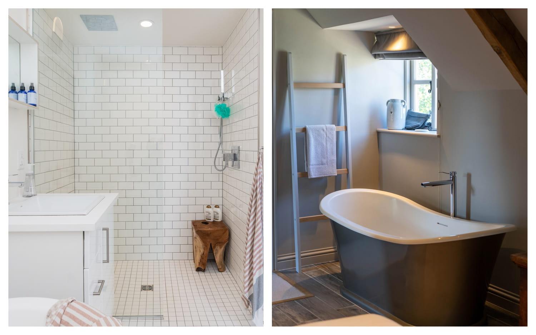 Douche et baignoire: comment les choisir avec soin?