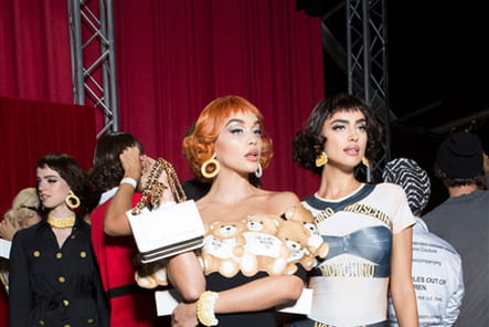Moschino (Backstage) - photo 24