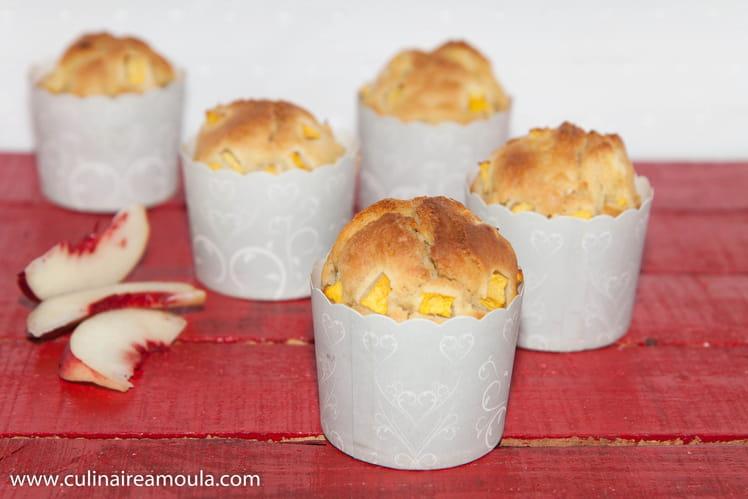 Muffins aux nectarines