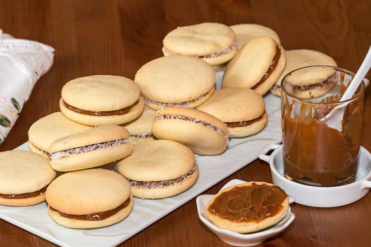 Alfajores, biscuits d'Argentine et dulce de leche