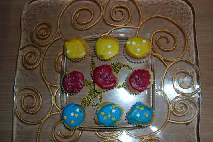 Muffins natures à décorer