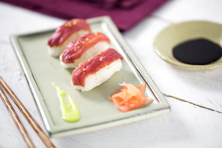 Sushis de filet de Canard Maigre