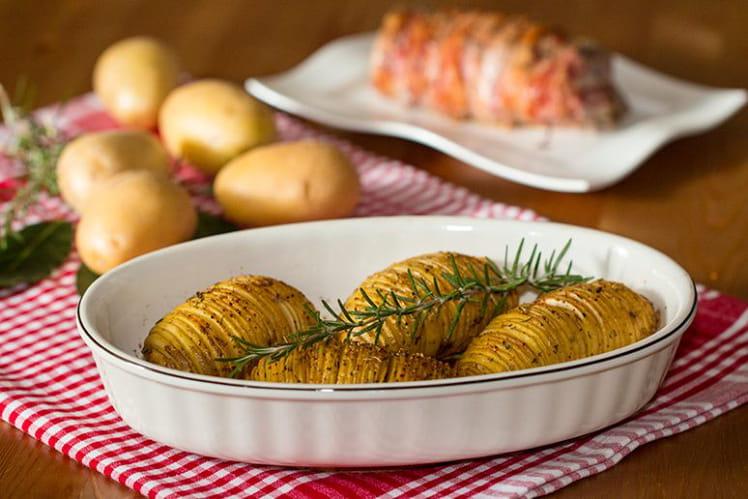 Pommes de terre hasselback à la suédoise