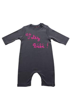 un pyjama pour 'voter bébé' !