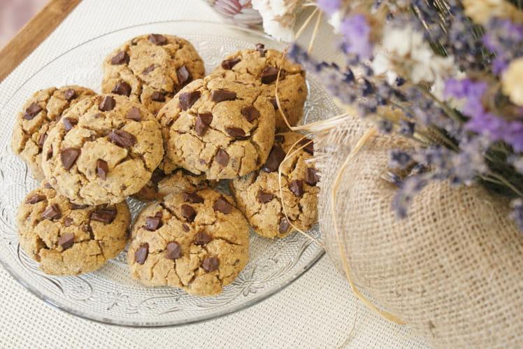 Cookies chocolat, coco (sans gluten)