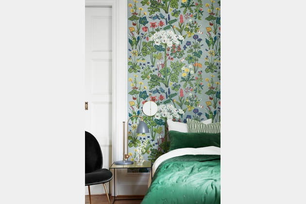 Papier peint Aurora Bedroom par Boråstapeter
