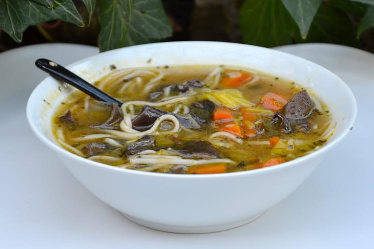 Bouillon asiatique végétarien