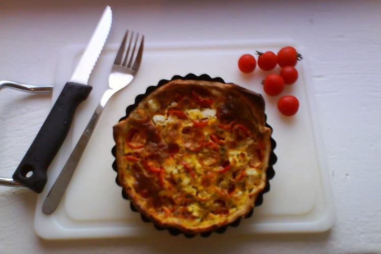 Tartelettes tomates cerises - chèvre