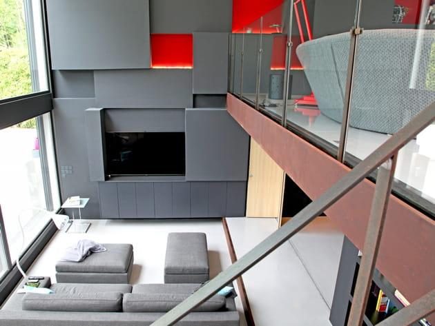 Une mezzanine d'architecte