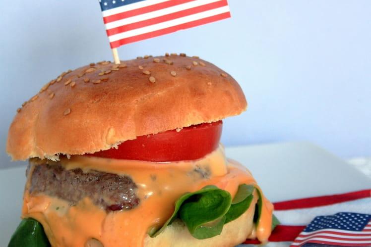 Burger 100% maison