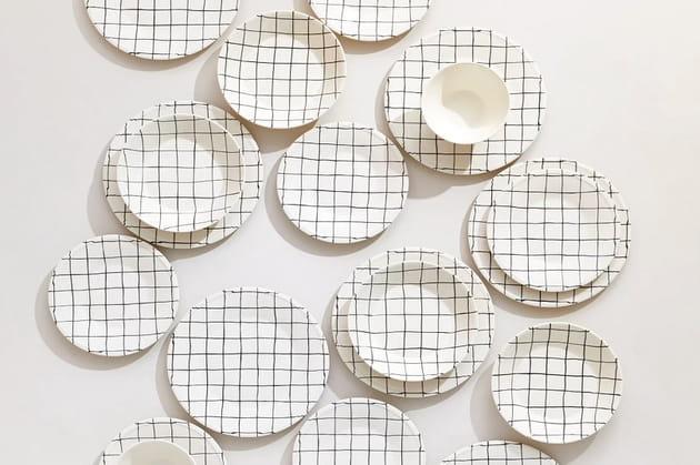 Vaisselle graphique Zara Home
