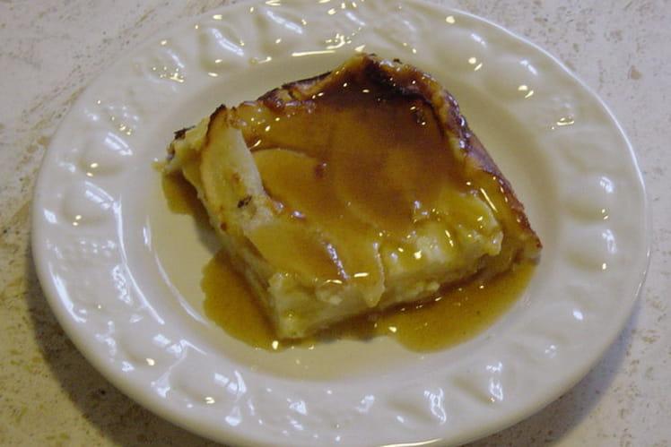 Flan de poires au miel