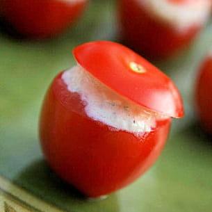 tomates cerises fraîcheur d'été