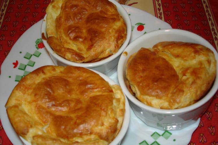 Soufflés au fromage individuels