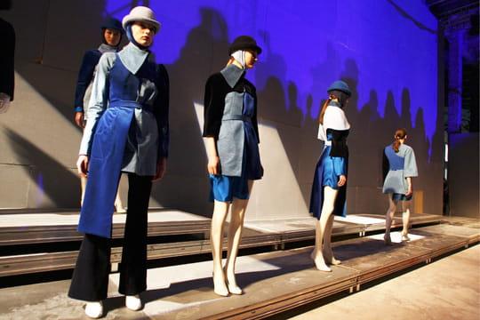 Fashion week prêt-à-porter automne-hiver 2011-2012 : les coulisses du défilé Aganovich 1
