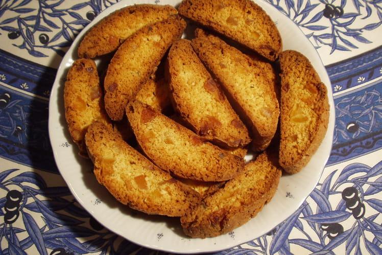 Biscotti aux oranges confites et pommes