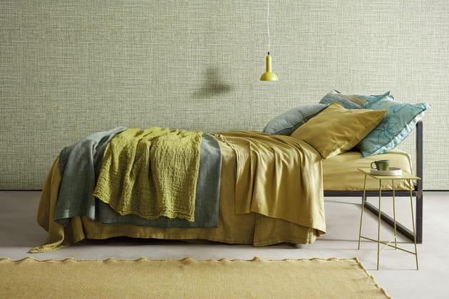 linge de lit pistacchio society limonta. Black Bedroom Furniture Sets. Home Design Ideas
