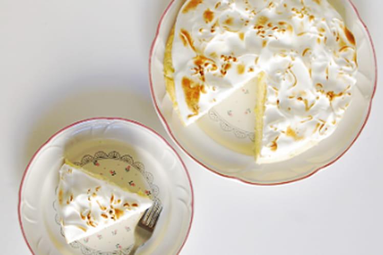 Gâteau magique, façon tarte au citron meringuée