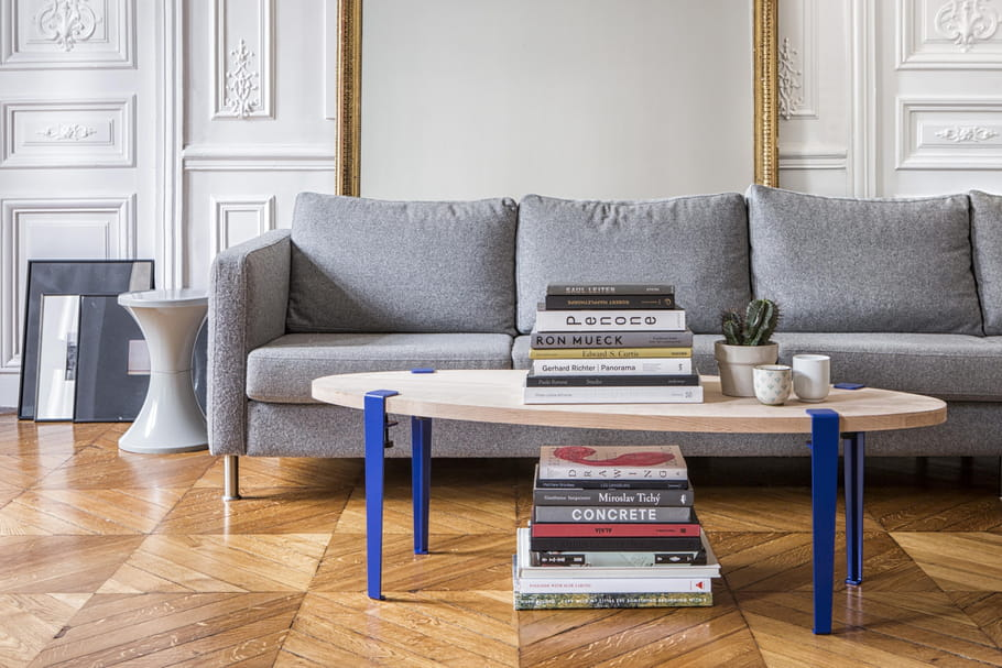 Fabriquer sa table avec des pieds personnalisables - Fabriquer sa table de salon ...