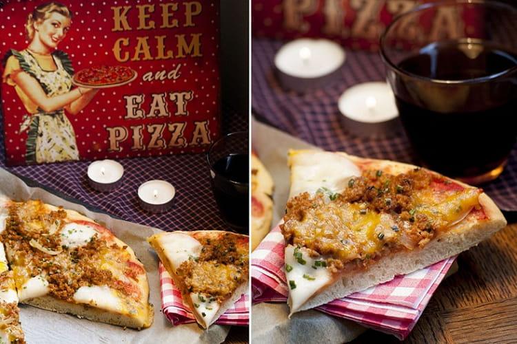 Pâte à pizza inratable