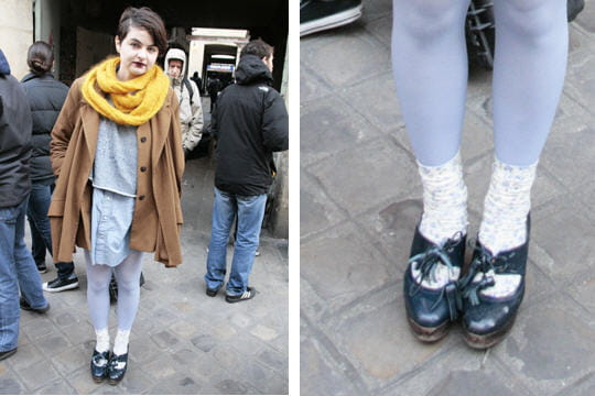 Fashion week : les street looks des défilés parisiens PAP automne-hiver 2011-2012 35