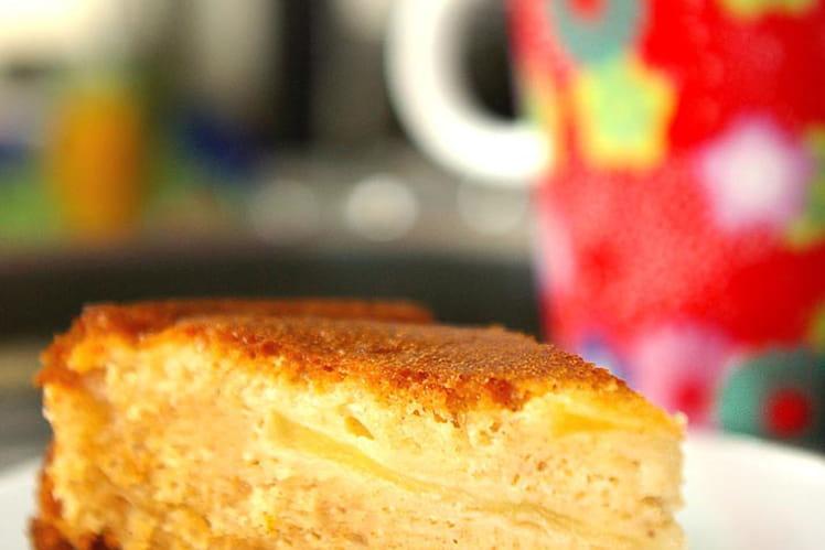 Gâteau pommes châtaignes