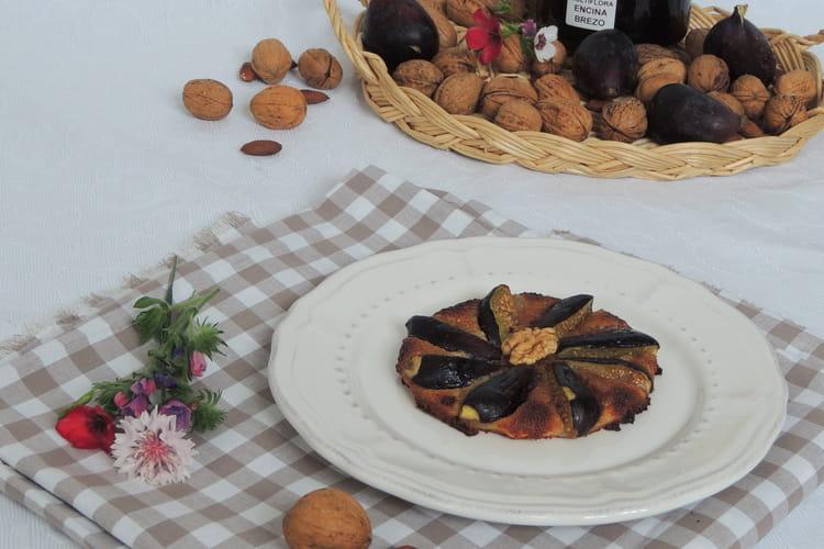Tarte fine aux figues et à la crème d'amande