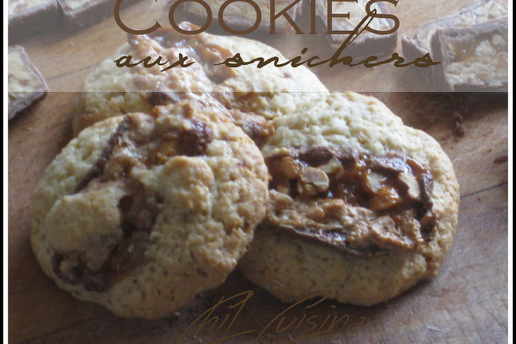 Cookies aux Snickers express