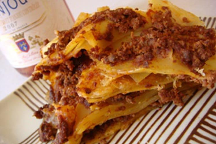 Lasagnes faciles
