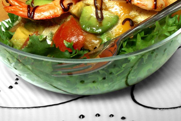 Salade exotique aux fruits