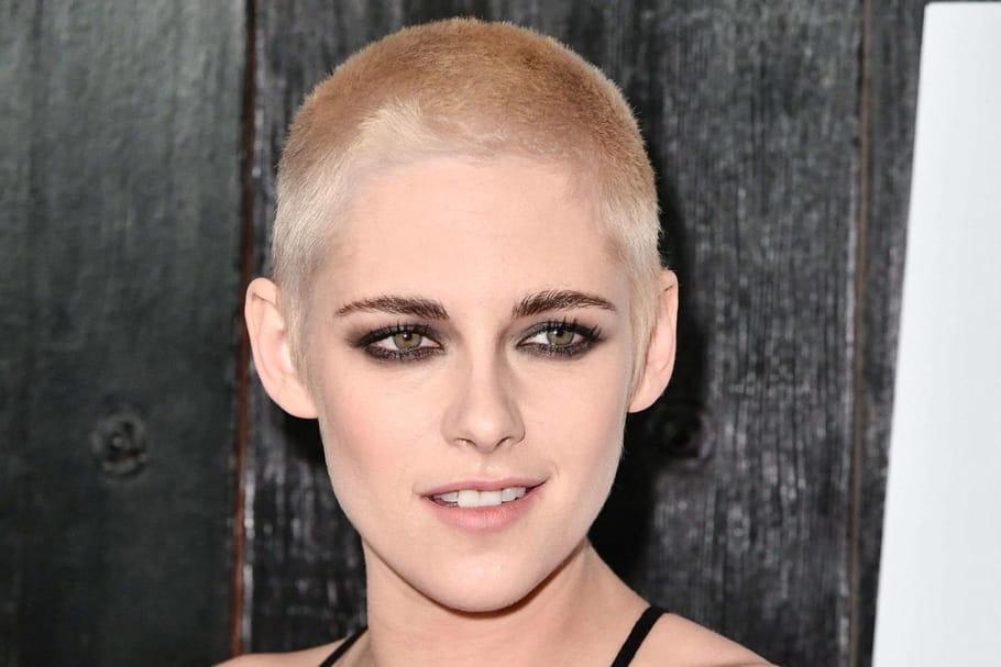 Kristen Stewart s'est rasée la tête