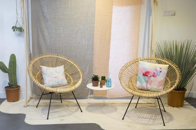 Fauteuil hawai par conforama for Salon de jardin conforama
